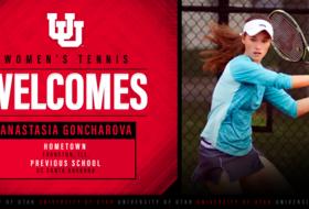 Utah Women's Tennis Adds Anastasia Goncharova