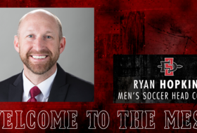 Ryan Hopkins Named SDSU Men's Soccer Head Coach