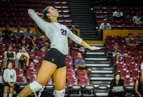 Four Devils Hit Double-Figured Kills in @SunDevilVB Win Over Colorado