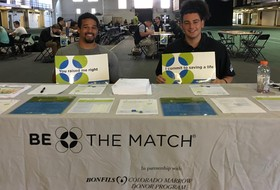 Football Holds Fifth Annual Be The Match Registry Event