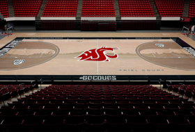 WSU Basketball Unveils New Home Court Design