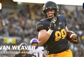 Evan Weaver Named To Chuck Bednarik Award Watch List