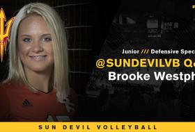 @SunDevilVB Q&A: Get To Know Brooke Westphal
