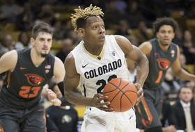 Buffs Freshman Peters Makes Most Of First Collegiate Start