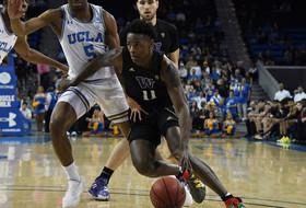 Huskies Fall at UCLA, 67-57