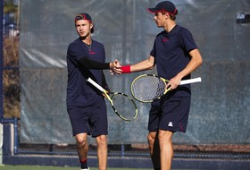 Men's Tennis Finishes the Weekend With Their Third Win