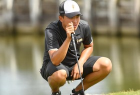 @SunDevilMGolf Just Two Shots Back After First Round in Hawaii