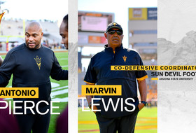Sun Devil Football's Marvin Lewis and Antonio Pierce Named Co-Defensive Coordinators