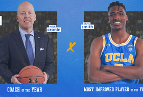 Cronin, Smith Secure Pac-12 Year-End Basketball Awards