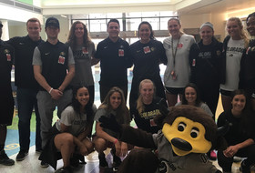 Volleyball Gives Back During Spring Season