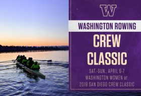 No. 1-Ranked UW Faces Tough Field At San Diego Crew Classic