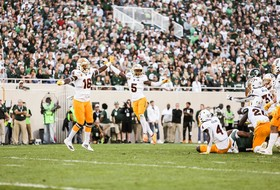 Sun Devil Football Topples #18 Michigan State With Late Rally