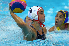 Stanford and USA Water Polo