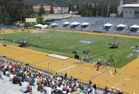 Information on All-Comers Meets at Edwards Stadium