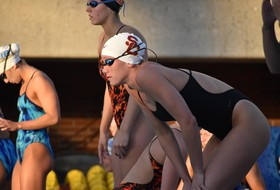 USC Women's Swimming Takes Day 1 Lead At SMU Classic