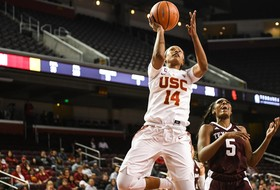 No. 19 Texas A&M Edges Out USC Women 75-74 In All-Out Battle At Galen Center