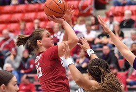 Hristova Moves Up on the Pac-12 All-Time Scoring List in Loss at UCLA