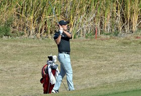 Men's Golf in Third Through Nearly Two Rounds of Play