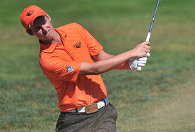 Men's Golf In Second Place Through 36 Holes