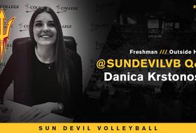 @SunDevilVB Q&A: Get To Know Danica Krstonošic