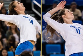 May, Simo Named VolleyballMag.com All-Americans