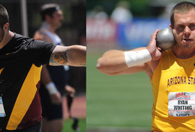 Sun Devil Shot-Putters Clarke, Whiting Aiming For 2016 Olympics