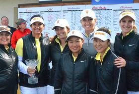 No. 7 Women's Golf Vaults to Third-Place Finish at Northrop Grumman