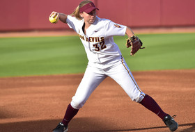 ASU Softball Bats Come Alive in 10-2 Rout Over Cal