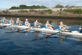 No. 12 UCLA Rowing Finishes Strong at San Diego Crew Classic
