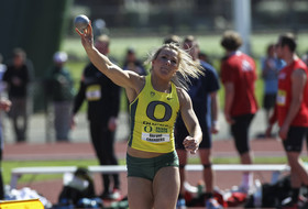 Keys, Crockett Lead After Day One of Oregon Relays