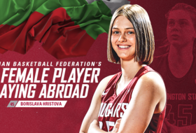Hristova Named Top Bulgarian Playing Abroad for a Third-Straight Year
