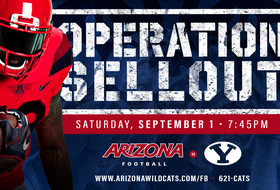 Operation Sellout Announced for Arizona Football's Opener
