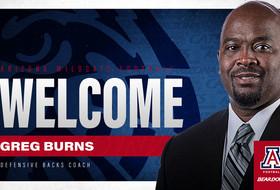 Wildcats Add Burns to Staff as DBs Coach