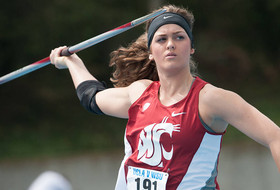 Cougs Capture Javelin Wins at WSU-UW Dual Meet