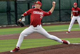 Block Strikes Out 10 as Cougars Pull Away Late