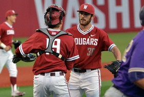 Five-Run Fifth Inning Leads Cougars Past No. 30 Huskies