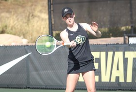 Buffs Doubles Teams Rise In Final Day of Husky Invite