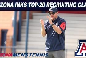 Arizona Men's Tennis Nets Top-20 Recruiting Class for 2018 Season