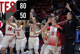 Utes Win Big on the Road 80-50