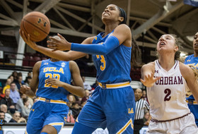 No. 11 UCLA Routs Fordham, 67-30