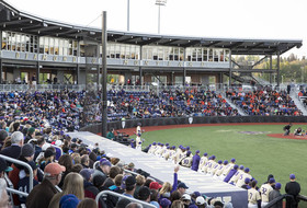 Huskies Fall, 4-1, In Front Of Largest Crowd At Husky Ballpark