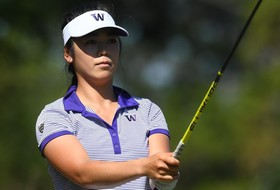 Keh Tied For Third After First Round of PING ASU Invitational