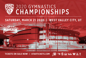 Tickets On Sale Now For 2020 Pac-12 Gymnastics Championships