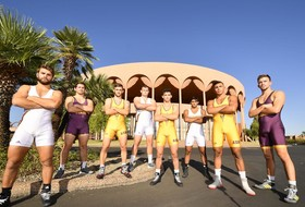 Grappling at Gammage: @ASUWrestling Home Opener in Iconic Theatre