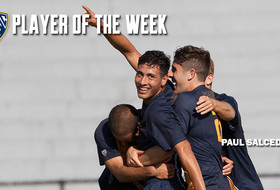 Freshman Paul Salcedo Named Pac-12 Player of the Week