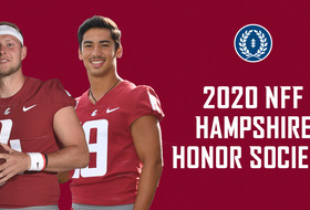 Arconado, Gubrud Named to 2020 NFF Hampshire Honor Society