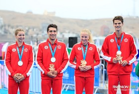 Triathlon's Henry Wins Silver at Pan American Games