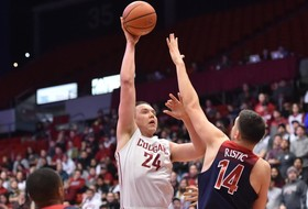 Josh Hawkinson Earns Pac-12 All-Academic Honors for Third-Straight Year