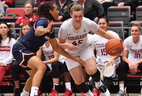 Hristova Moves into 2nd Place on All-Time Scoring List in Coug Win