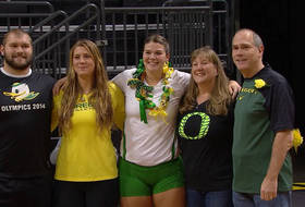 Volleyball Senior Day First Step In Brenner's Swan Song